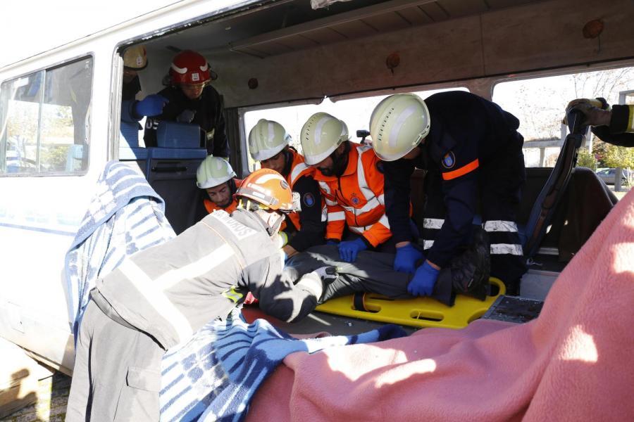 Simulacro de emerxencias, 30 de novembro de 2017