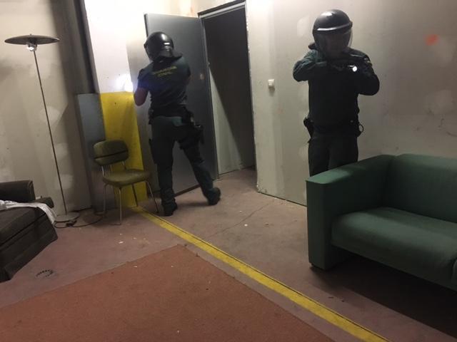 Curso de intervención policial con entrada a domicilios. 13 de junio de 2017
